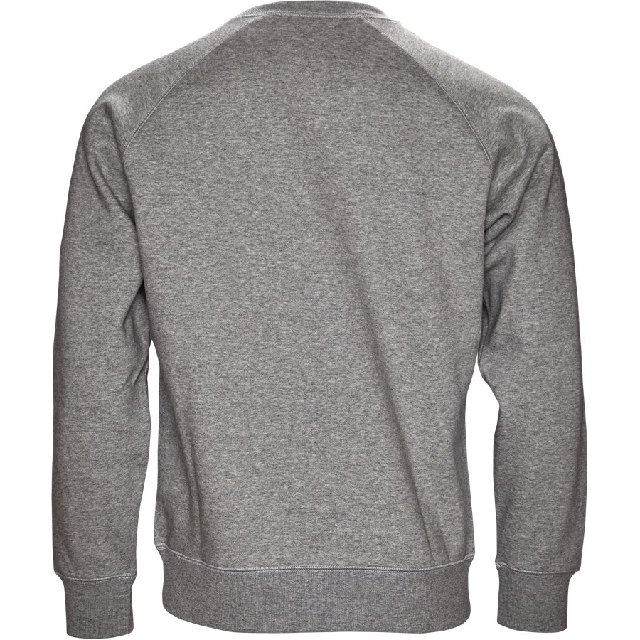 CHASE SWEAT I024652 - Chase Sweat - Sweatshirts - Regular - GREY HTR/GOLD - 2